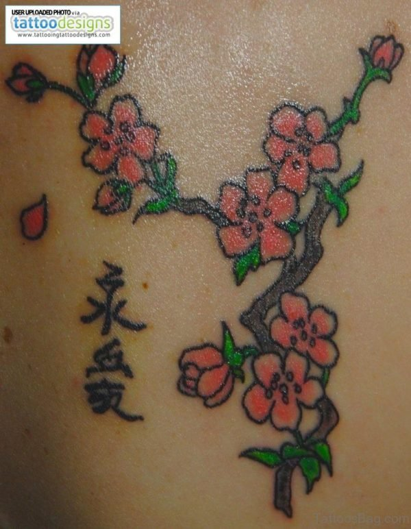 Cool  Cherry Blossom Tattoo