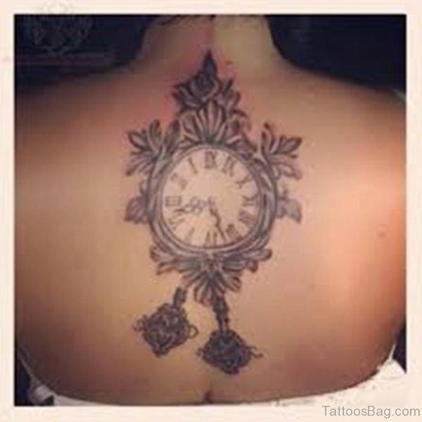 Cool  Clock Tattoo