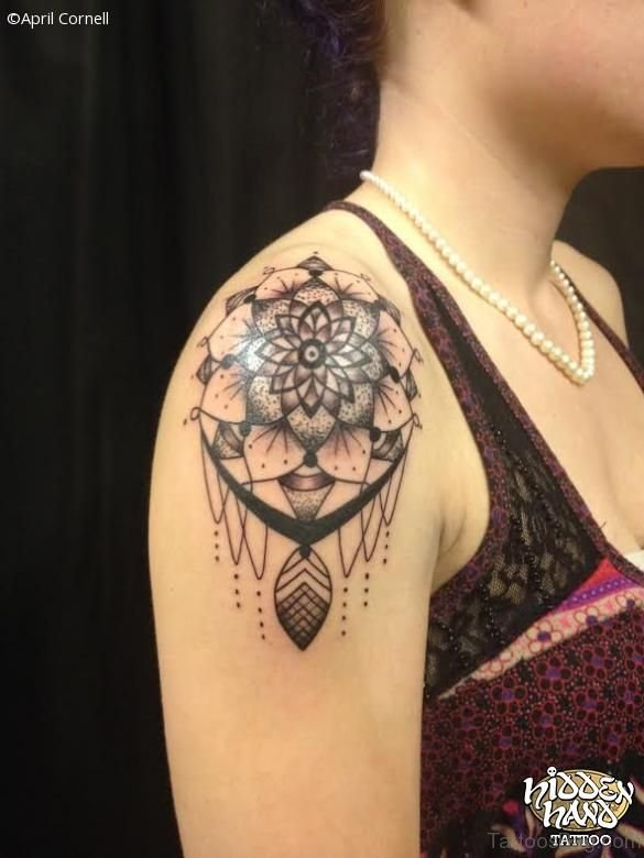 Cool Dream Catcher Tattoo