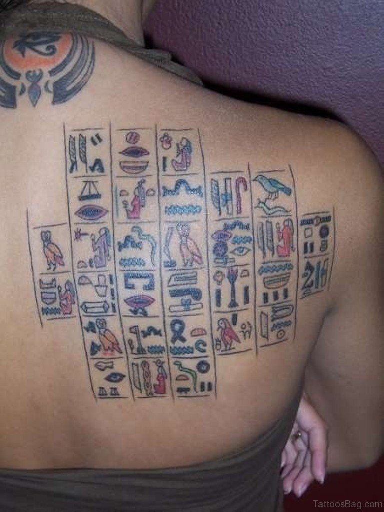 50 good looking egyptian tattoos for back cool egyptian tattoo biocorpaavc Image collections