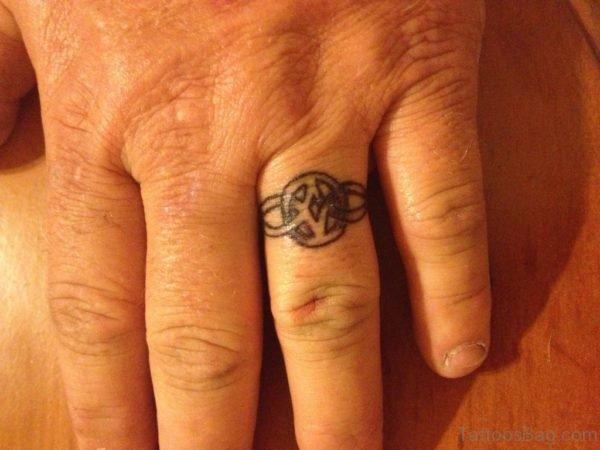 Cool Finger Tattoo