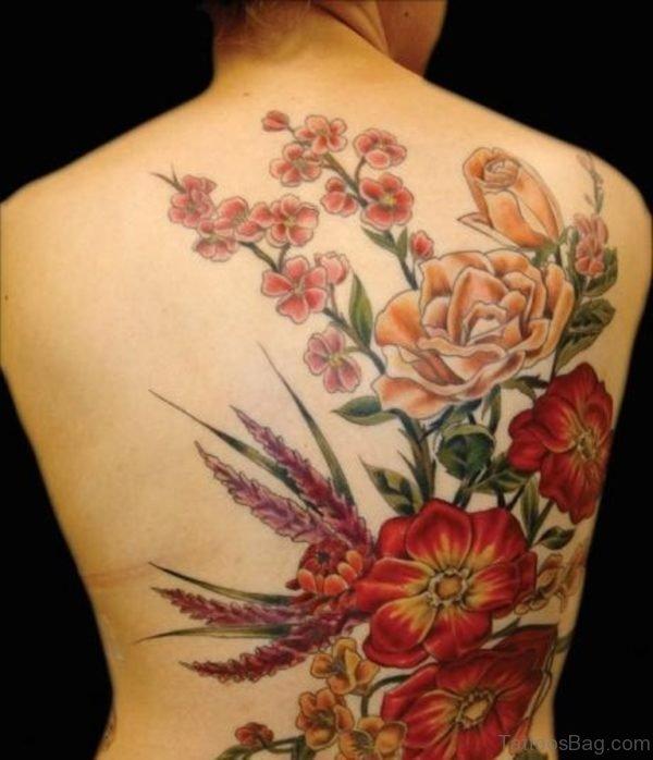 Cool Flower Tattoo