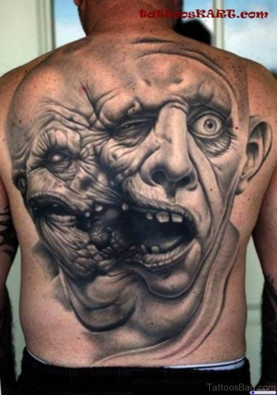 Cool Horror Tattoo