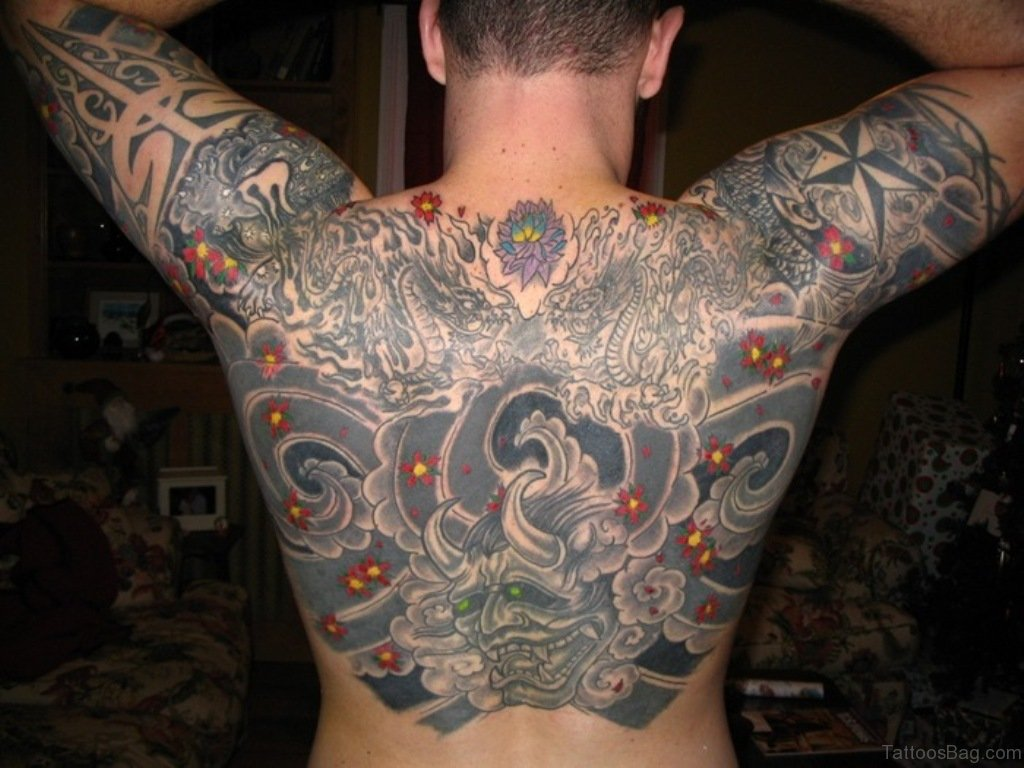 68 spiritual traditional japanese tattoos for back for Cool japanese tattoos