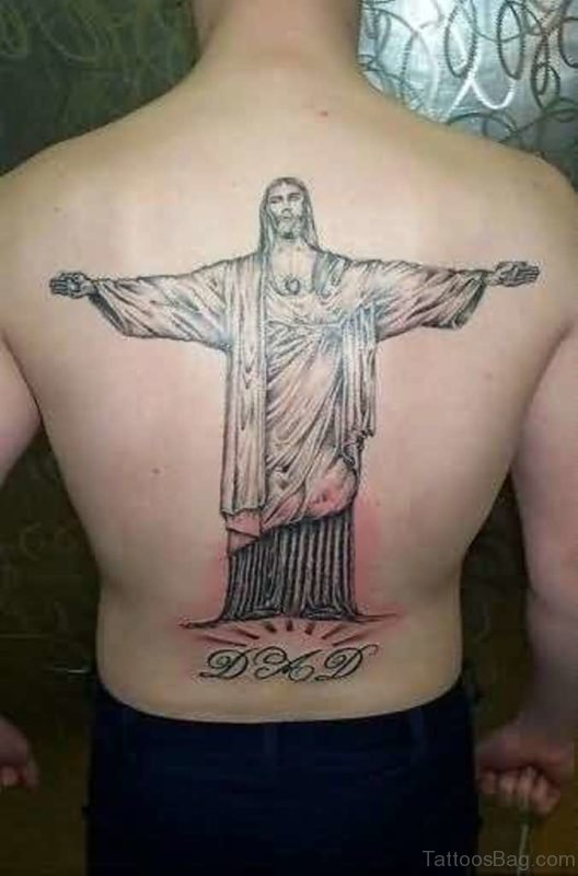 Cool  Jesus Tattoo Design