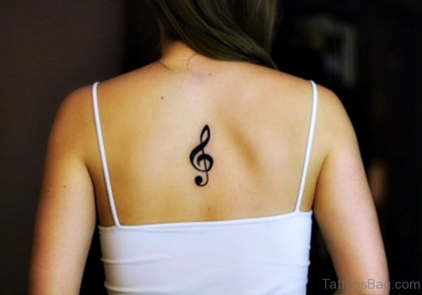 Cool  Music Note Tattoo