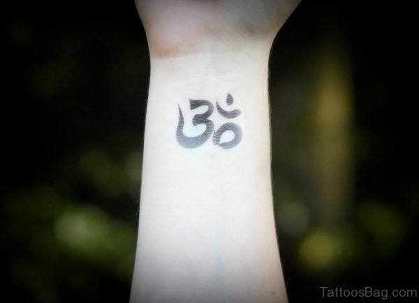 Cool Om Tattoo