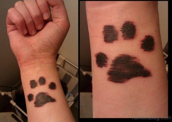 Cool Paw Tattoo