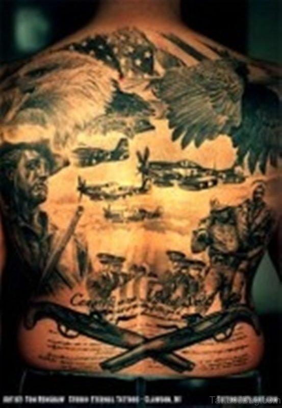 Cool Patriotic Tattoo