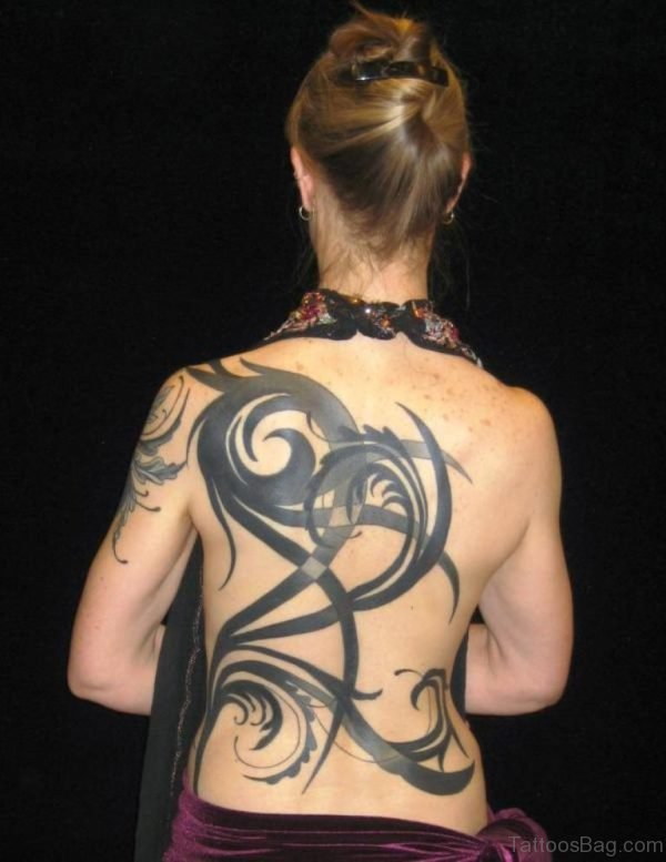 Cool Tribal Tattoo