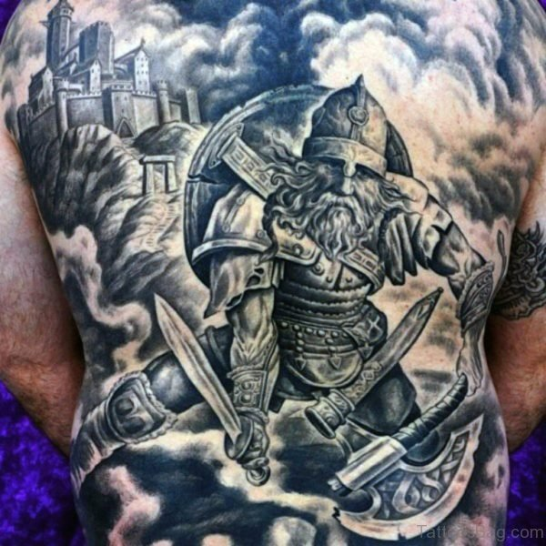 Cool Viking Tattoo