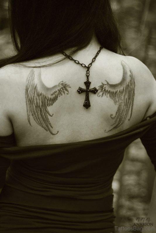 Cool Wings Tattoo