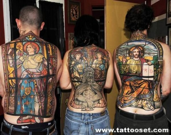 Cool religious Tattoo