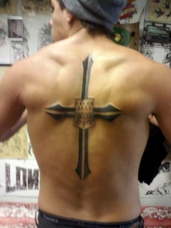Cross Tattoo For Men