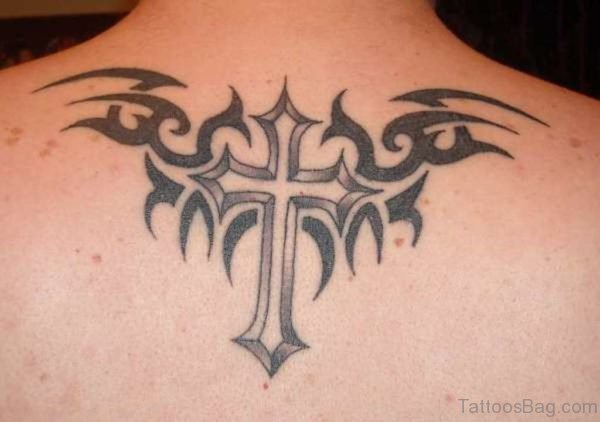 Amazing Cross Tattoo