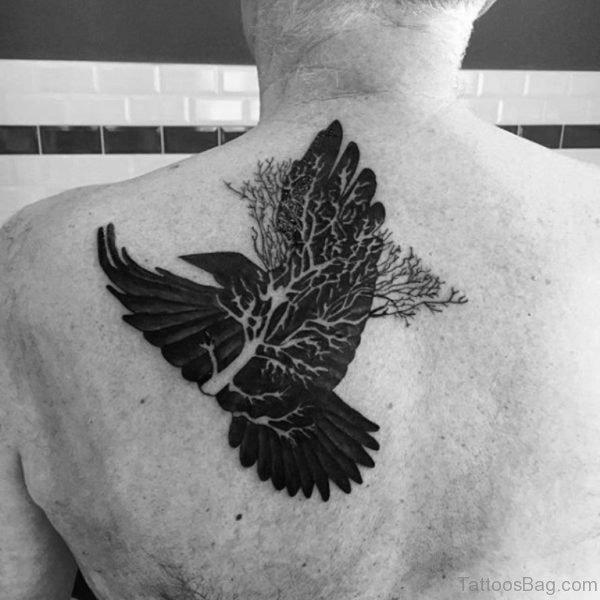 Crow Tattoo Design