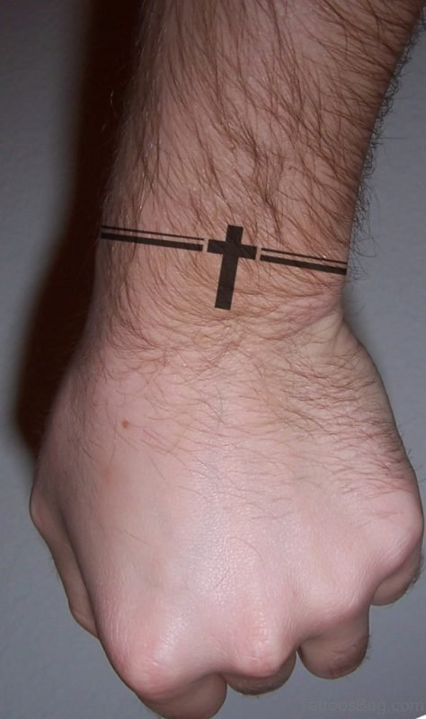 Cristian Religious Symbol Tattoo