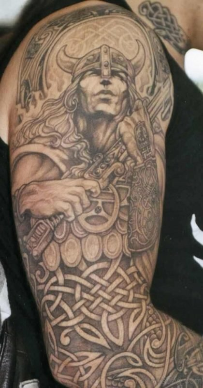 Cultural Viking Tattoo Design