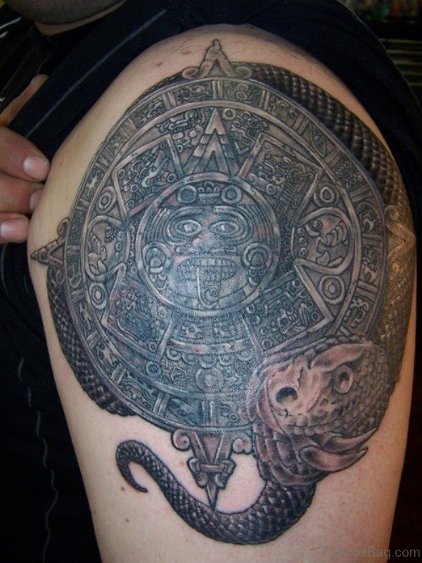 Culture Aztec Tattoo For Men