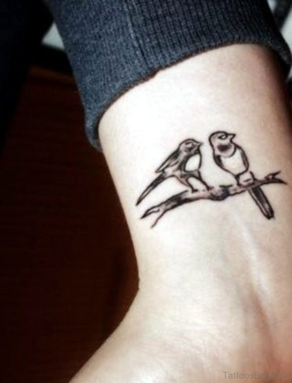 Cute Birds Tattoo