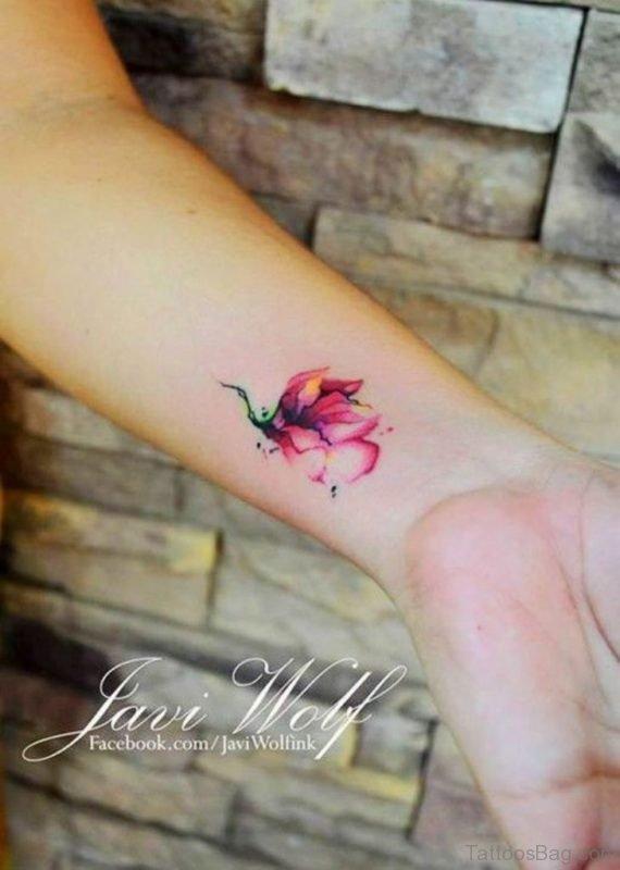 Cute Flower Tattoo