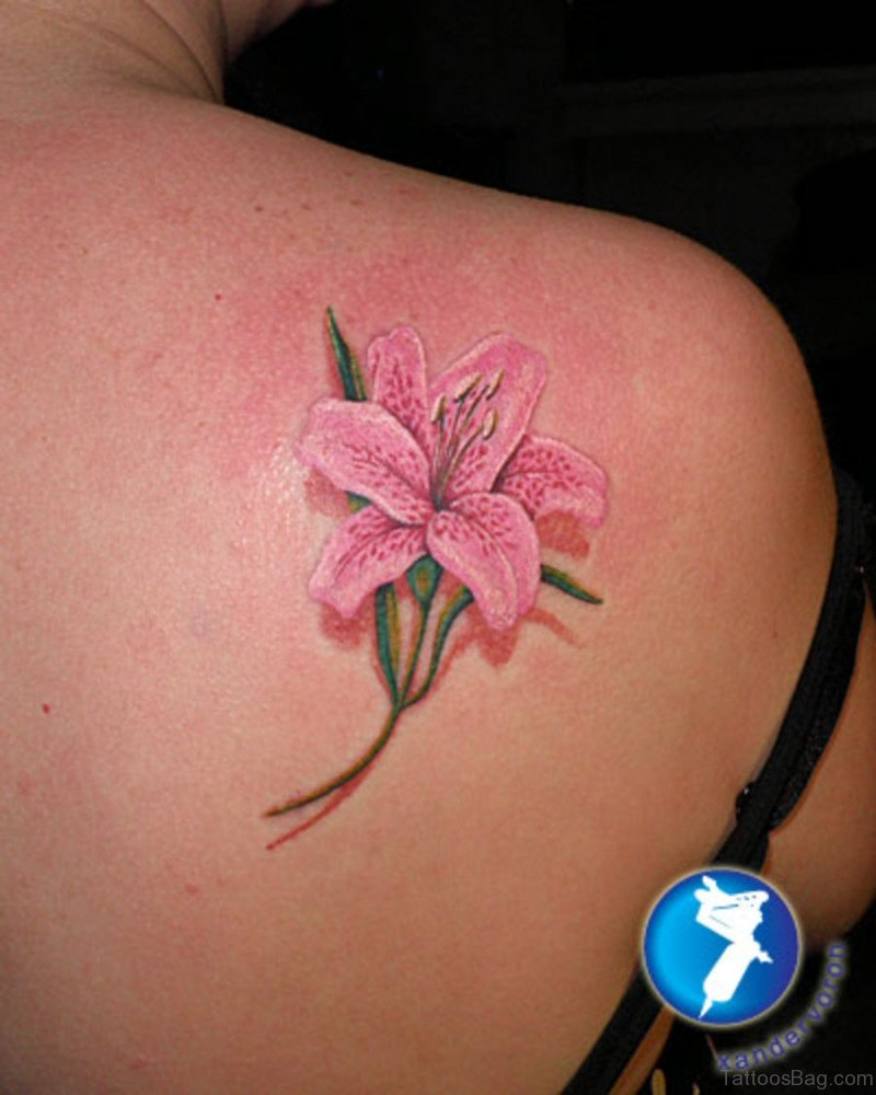 Lilly Tattoos: 65 Gorgeous Lily Tattoos For Shoulder
