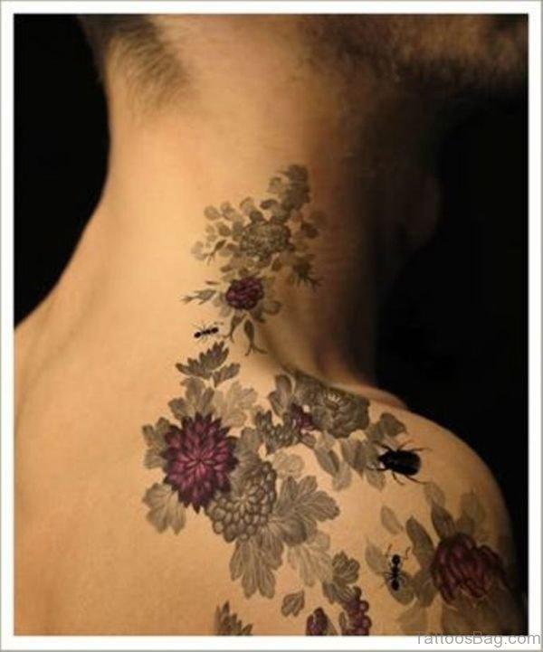 Cute Shoulder Tattoo For Women
