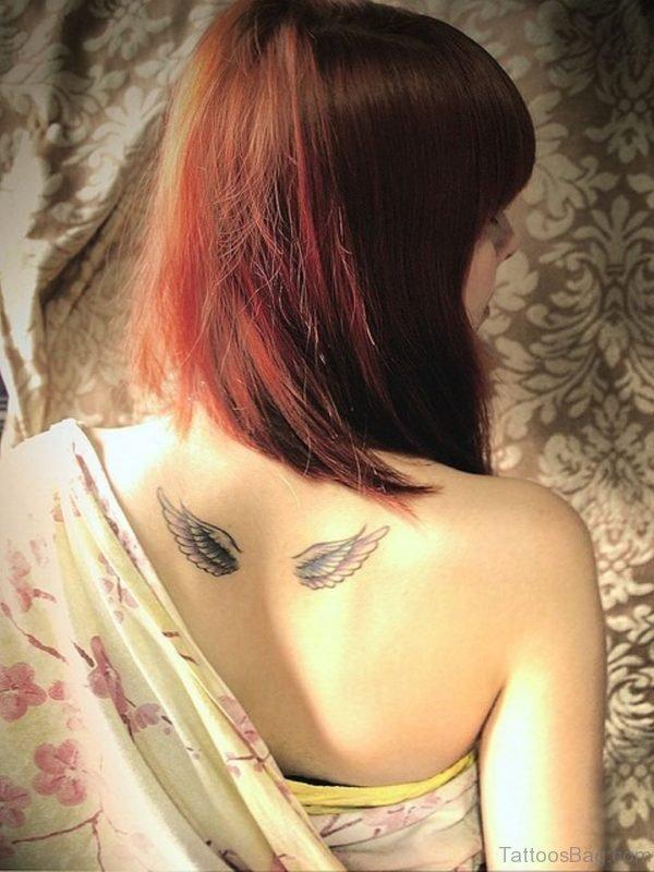 Cute Wings Tattoo