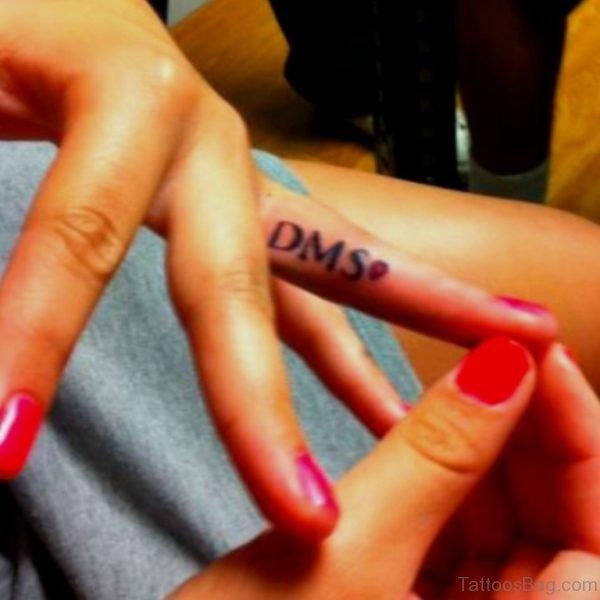 DMS Word Tattoo