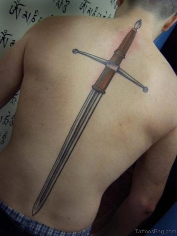 Dagger Sword Tattoo