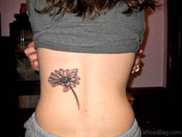 Daisy Tattoo On Back