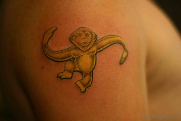 Dancing Monkey Tattoo