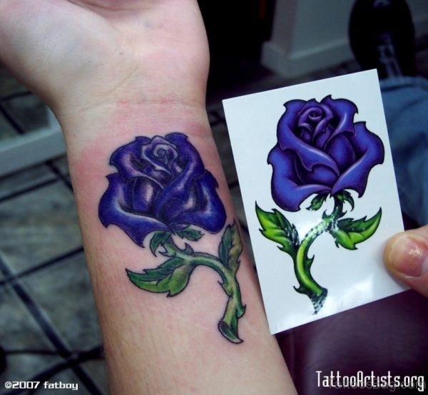 Dark Rose Tattoo