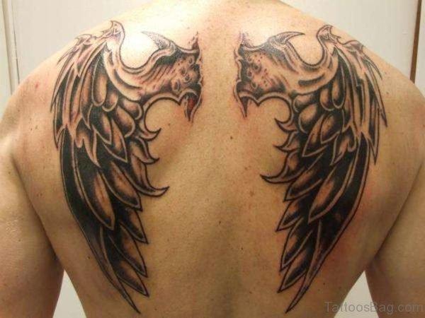 Demon Wings Tattoo