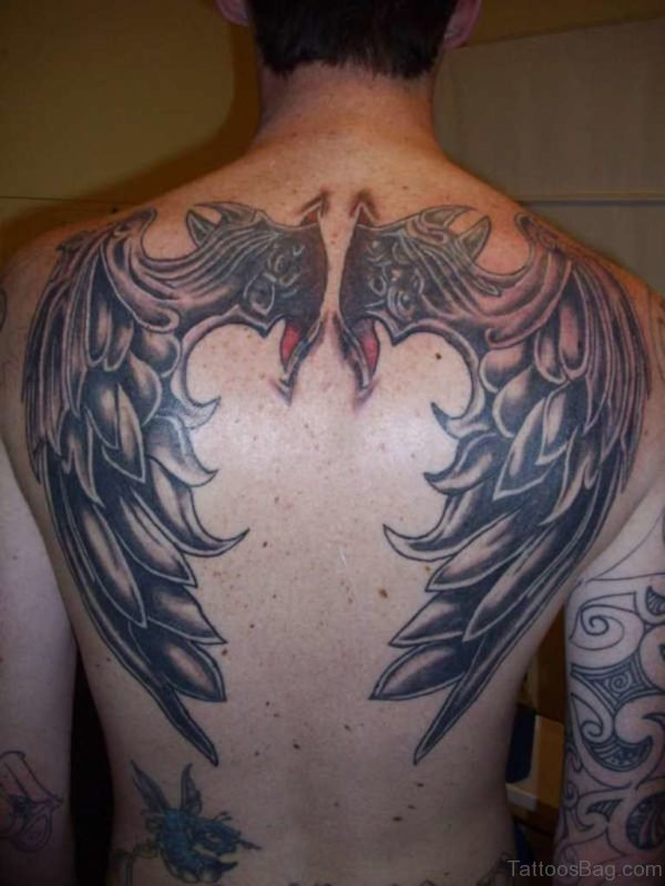 Demon Wings Tattoo Design