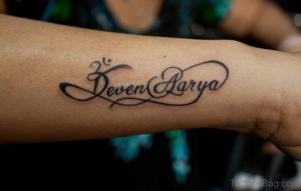 Deven Aarya Tattoo