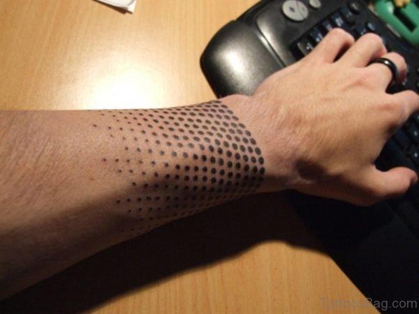 Dots Band Tattoo