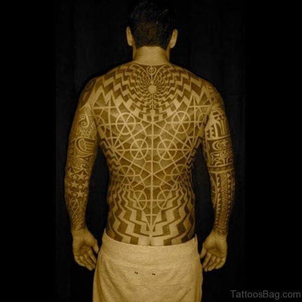 Dotwork Geometric Tattoo
