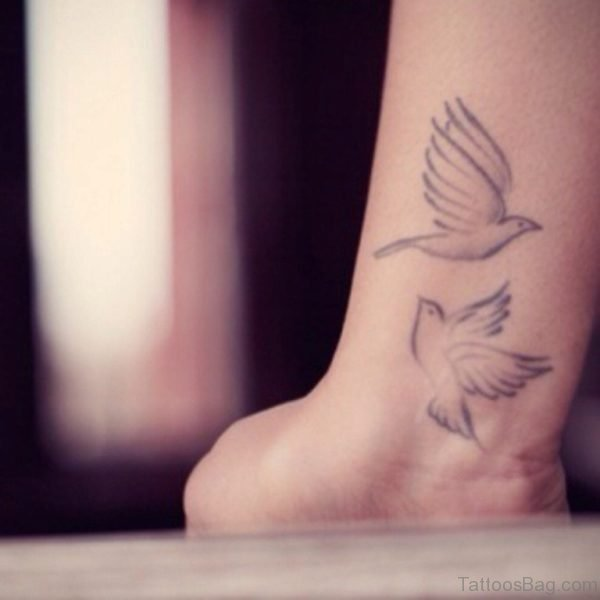 Dove Tattoo On Wrist