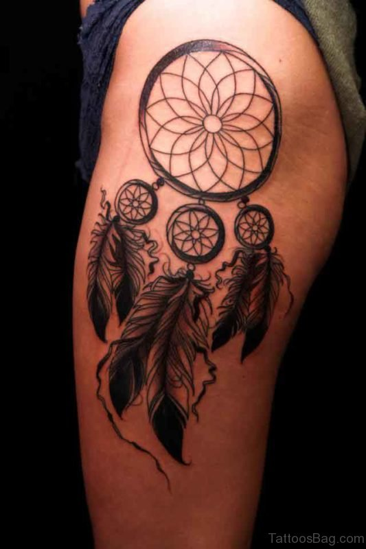 Dream Catcher Awesome Tattoo