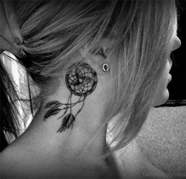 Dreamcatcher Tattoo For Women