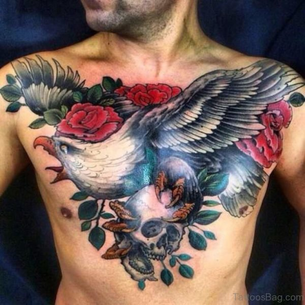 Eagle And Skull Tattoo