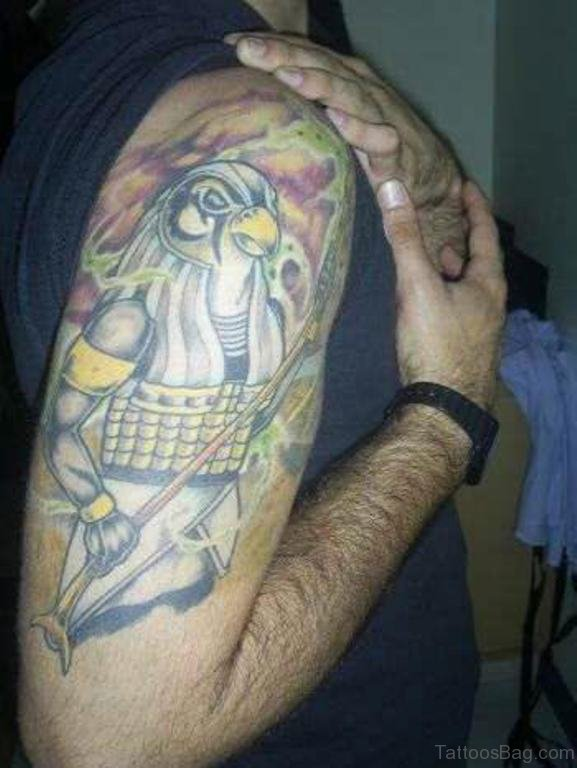 Eagle Egyptian Tattoo