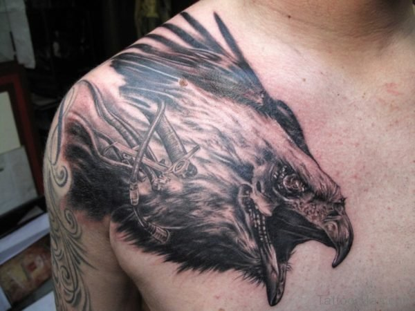 Eagle Head Tattoo Image