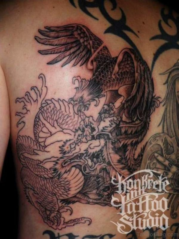 Nice Eagle Tattoo