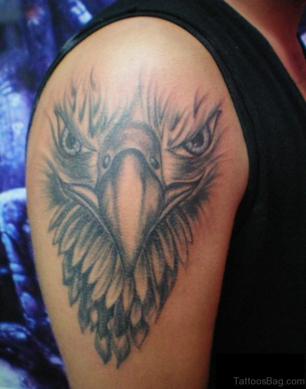 Eagle Tattoo On Shoulder