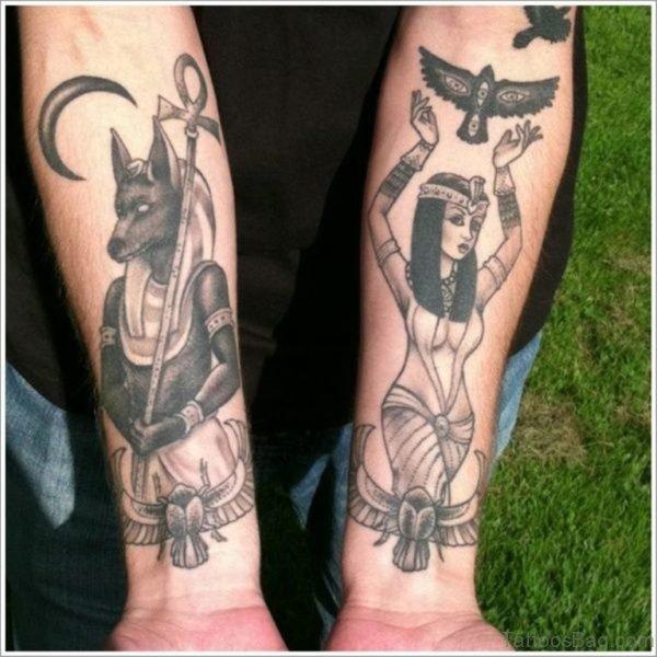 Egyptian God Tattoo