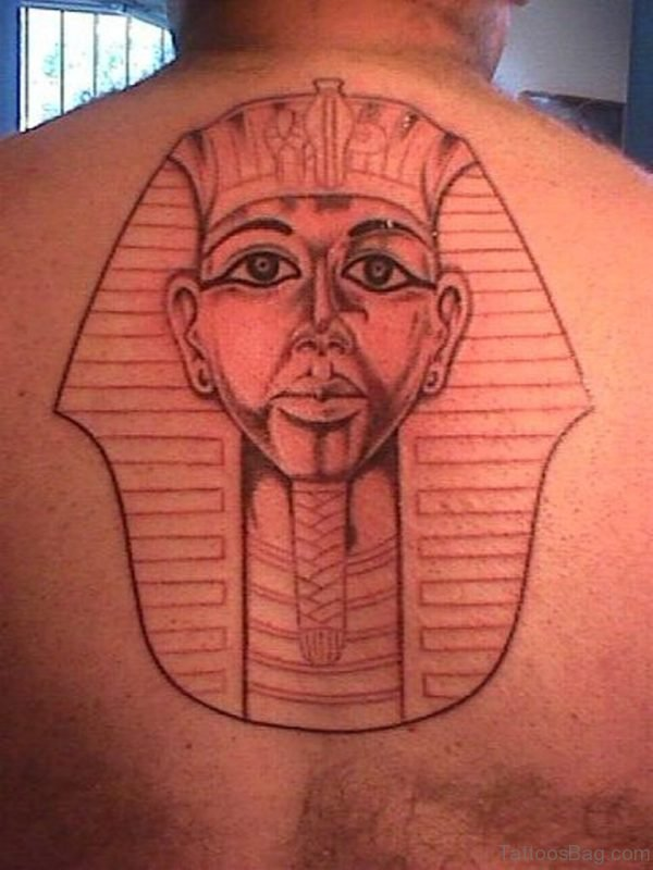 Egyptian King Face Tattoo