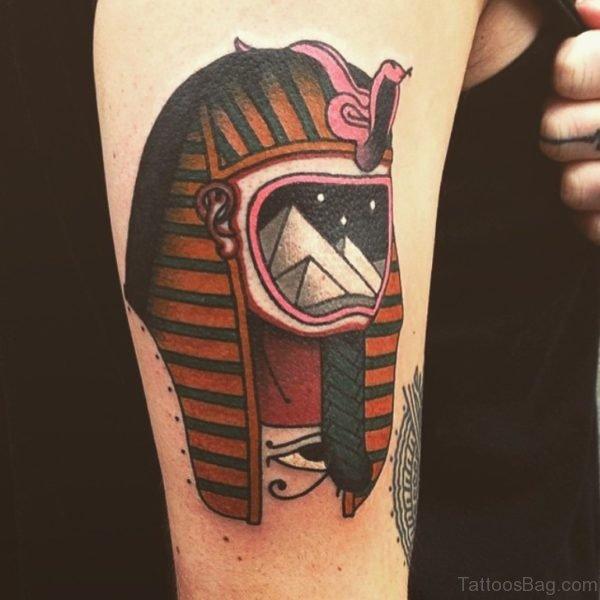 Egyptian Mask Tattoo