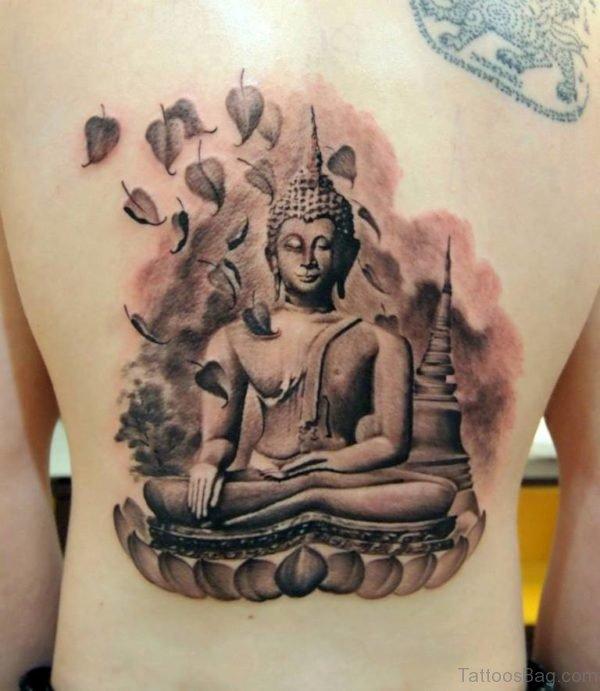 Elegant Buddha Tattoo Design